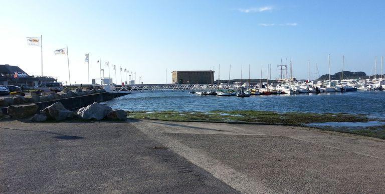Port de l'Aber Wrac'h par coefficient 114